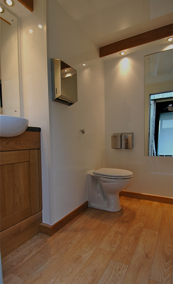 Peagreen Eco 100 Luxury Mobile Toilet Hire